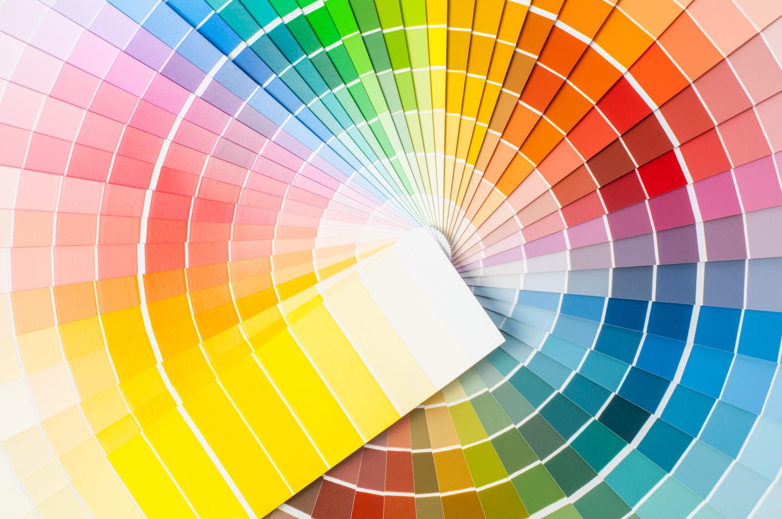 nuancier de couleur